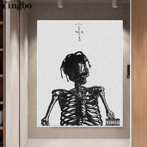 Cactus Jack Skeleton 5D Diamond Painting Kits Round or Square Full Drill Acrylic Diamonds Embroidery Cross Stitch for Men or Women Décor