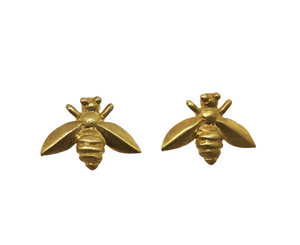 Load image into Gallery viewer, Satin Bee Stud