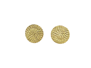 Load image into Gallery viewer, Coil Disc Earrings