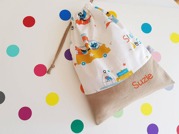 Sac à doudou personnalisable - Superdogs