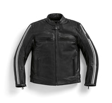 Load image into Gallery viewer, BMW Motorrad Heritage TwinStripes Leather Jacket