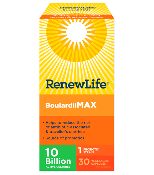 RENEWLIFE  BOULARDII MAX 10BILLION  30VC