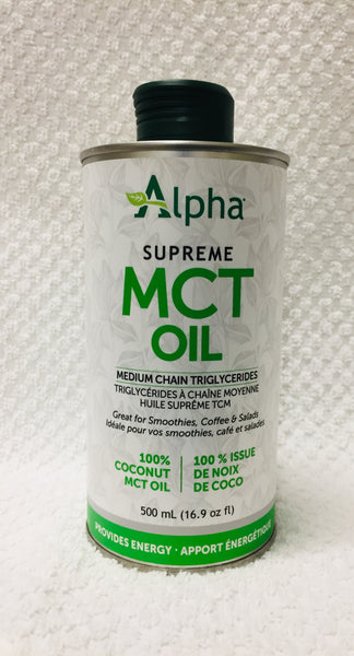 ALPHA MCT OIL SUPREME 500ML