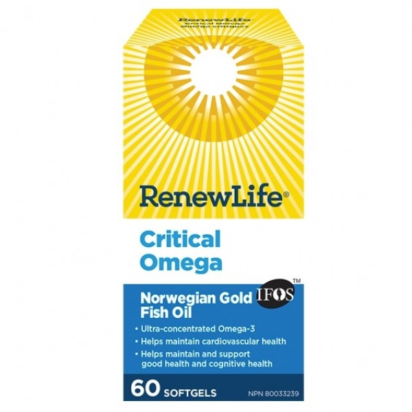 RenewLife Critical Omega - hollowwillow