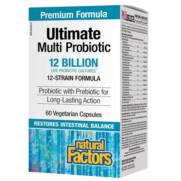 Natural Factors Ultimate Multi Probiotic - hollowwillow