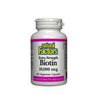 Natural Factors Extra Strength Biotin - hollowwillow
