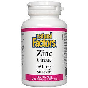 Natural Factors Zinc Citrate - hollowwillow