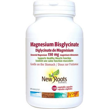 New Roots Magnesium Bisglycinate - hollowwillow