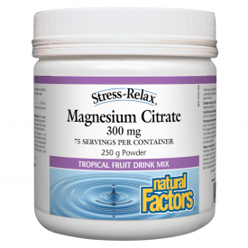 Natural Factors Magnesium Citrate - hollowwillow
