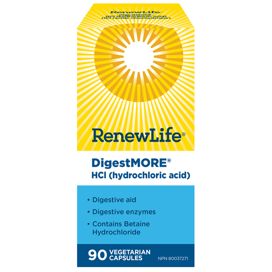 RenewLife Digestmore HCl - hollowwillow