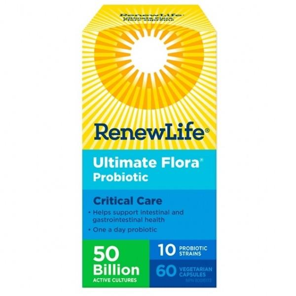 RenewLife Ultimate Flora Critical Care 60vc