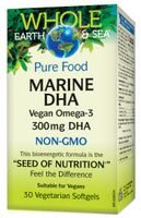 WHOLE EARTH & SEA MARINE DHA VEGAN 300MG 30VC