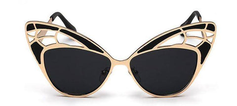 Reflective Light Cat Eye Sunnies