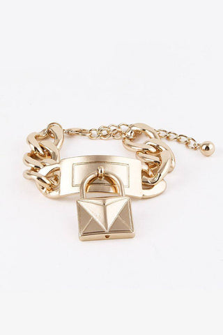 City Girl Pyramid Cuff
