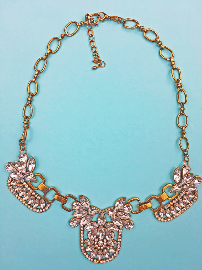 Statement Necklace - Shine A Little Love Crystal Necklace
