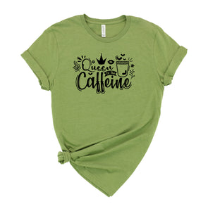 Queen of the Caffeine Graphic T-Shirt