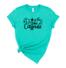 Load image into Gallery viewer, Queen of the Caffeine Graphic T-Shirt