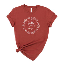 Load image into Gallery viewer, Faith over Fear Graphic T-Shirt