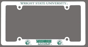 Wright State University Raiders License Plate Frame