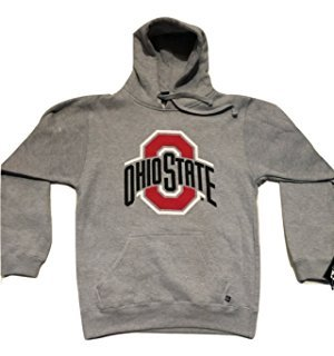 J. America Ohio State Buckeyes Athletic Logo Gray Hoodie (Sizes 3X, 4X, 5X)