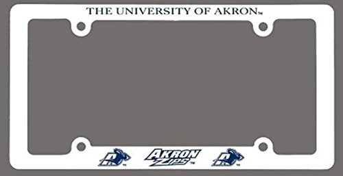 University of Akron Plastic License Plate Frame