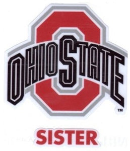 Ohio State University Sister Window Decal