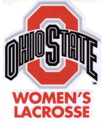Ohio State University Women's Lacrosse Window Decal