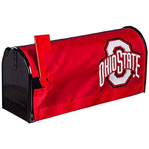 Evergreen NCAA Ohio State Buckeyes Mailbox Cover, Team Colors, One Size