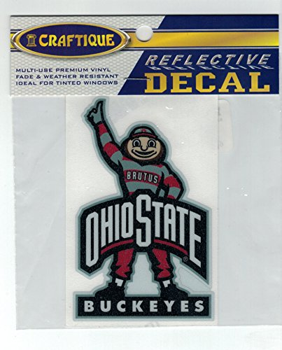 Ohio State Brutus Reflective Decal
