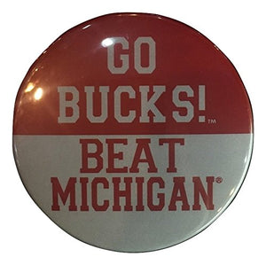 2-pack Ohio State Buckeyes Gameday Button, Go Bucks! Beat Michigan (2 pc)