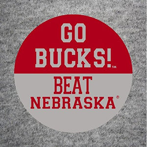 2-Pack Ohio State Buckeyes Gameday Button, Go Bucks! Beat Nebraska