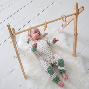 Play + Activity Gym - Timber
