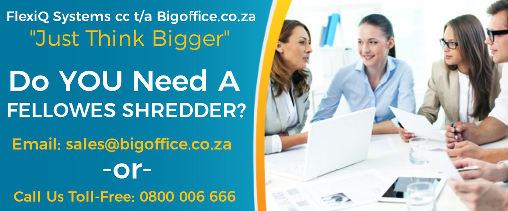 Fellowes Shredders - Bigoffice.co.za