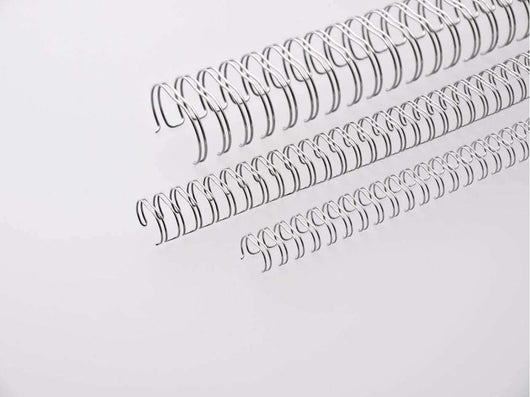 Wire 2:1 23LP 8mm Box 100 Silver - Bigoffice.co.za