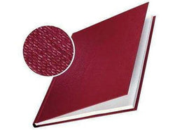 Hard Cover 14.0mm Linen Look A4 Pk of 10 Burgundy - Bigoffice.co.za