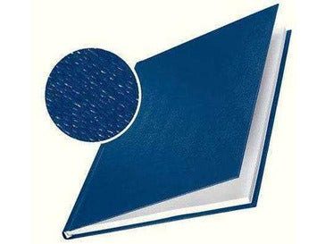 Hard Cover 28.0mm Linen Look A4 Pk of 10 Blue - Bigoffice.co.za