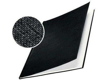 Hard Cover 3.5mm Linen Look A4 Pk of 10 Black - Bigoffice.co.za