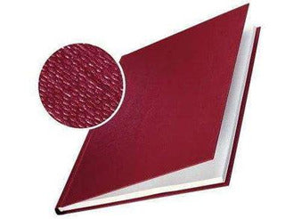 Hard Cover 3.5mm Linen Look A4 Pk of 10 Burgundy - Bigoffice.co.za