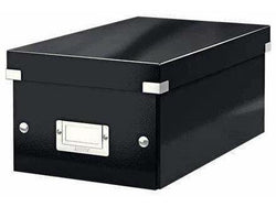 Leitz Media Storage DVD Box Black - Bigoffice.co.za