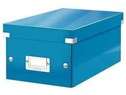 Leitz Media Storage DVD Box Blue - Bigoffice.co.za