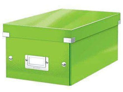 Leitz Media Storage DVD Box Green - Bigoffice.co.za