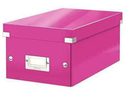Leitz Media Storage DVD Box Pink - Bigoffice.co.za
