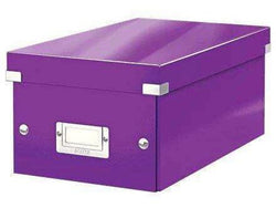 Leitz Media Storage DVD Box Purple - Bigoffice.co.za
