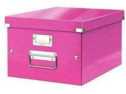 Leitz Universal Boxes Medium A4+ Pink - Bigoffice.co.za