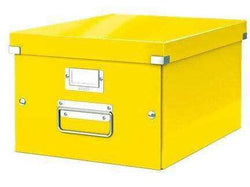 Leitz Universal Boxes Medium A4+ Yellow - Bigoffice.co.za