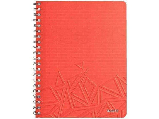 Leitz Notebook A4 Ruled Urban Chic 6 in a box Red - Bigoffice.co.za