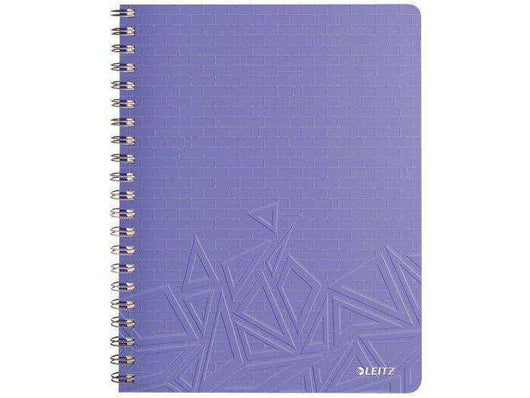 Leitz Notebook A4 Ruled Urban Chic 6 in a box Voilet - Bigoffice.co.za