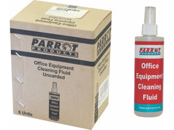 CLEANING FLUID OFFICE EQUIPMENT 250ML UNCARDED BOX OF 6 - Bigoffice.co.za