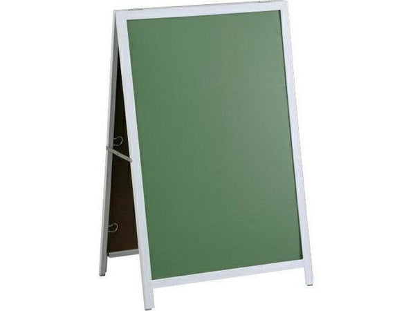 A FRAME CHALK BOARD STEEL FRAME 900*600MM - Bigoffice.co.za
