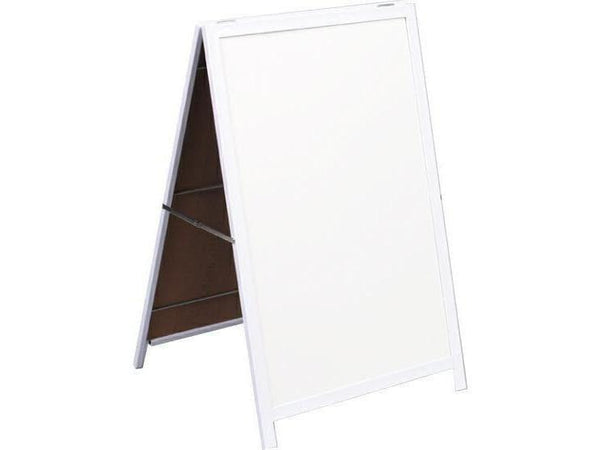 A FRAME WHITEBOARD NON-MAG STEEL FRAME 900*600MM - Bigoffice.co.za